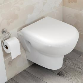 Vitra Zentrum Wall Hung WC & Toilet Seat