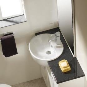 Roper Rhodes Zest 500mm Standard Depth Semi Countertop Basin