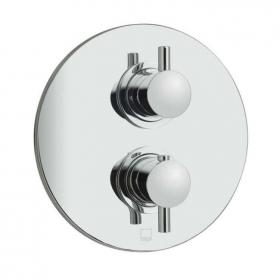 Photo of Vado Celsius Twin Outlet Two Handle Thermostatic Shower Valve