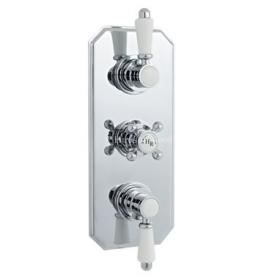 Hudson Reed Traditional Triple Concealed Thermostatic Shower Valve