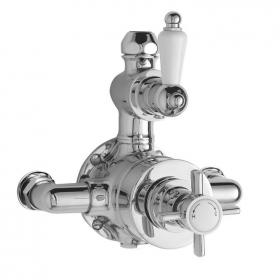 Ultra Edwardian Twin Exposed Thermostatic Shower Valve