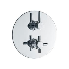 Hudson Reed Tec Twin Thermostatic Shower Valve