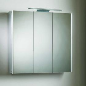 Roper Rhodes Absolute Aluminium Bathroom Cabinet with LED Light