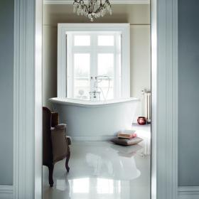 Burlington Admiral 1650mm Freestanding Bath