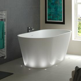 Mere Angelo Stone 1700 x 800 Double Ended Freestanding Bath