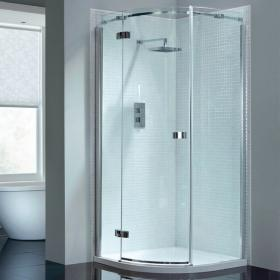 April Prestige2 Frameless Single Door Quadrant