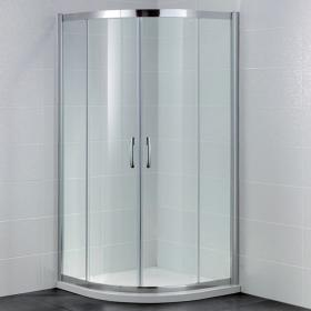 April Identiti Double Door Quadrant Shower Enclosure