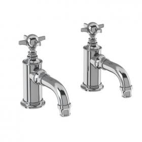 Arcade Chrome Crosshead Basin Pillar Taps