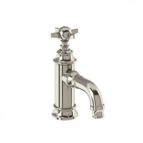 Arcade Nickel Mini Monobloc Basin Mixer