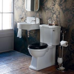 Arcade Cloakroom Toilet & Basin Set