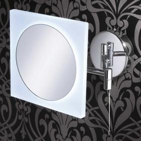 HIB Aries LED Magnifying Bathroom Mirror