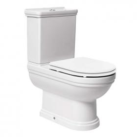 Mere Aristo Close Coupled Toilet, Cistern & Seat
