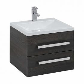 Frontline Aquatrend Avola Grey 500mm Vanity Unit & Basin