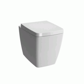 Vitra Designer M-Line Back To Wall WC & Standard Seat