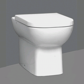 Vitra Designer Nest Back To Wall WC & Standard Seat
