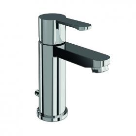 Britton Bathrooms Crystal Basin Mixer Including Pop-Up Waste