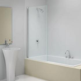 Ionic by Merlyn 6mm Fixed Square Bath Screen