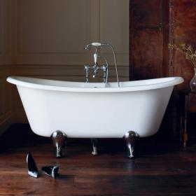 Clearwater Batello 1690mm Clear Stone Freestanding Bath