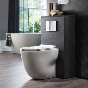 Bauhaus Wild Back To Wall WC and Thin Line Soft Close Seat