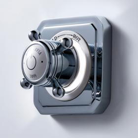 Crosswater Belgravia Crosshead Single Outlet Digital Shower Valve with Pump - Low Pressure