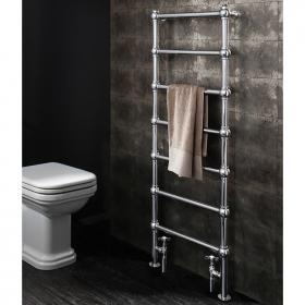 Bauhaus Belle 500 Chrome Floor Standing Towel Rail