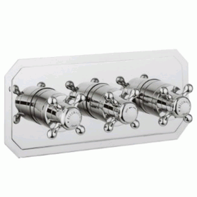 Crosswater Belgravia Crosshead 3001 Shower Valve 3 Way Diverter - Slimline