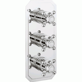 Crosswater Belgravia Crosshead 3000 Shower Valve 3 Way Diverter -Slimline