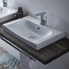Roper Rhodes Breathe 610mm 1 Tap Hole Basin