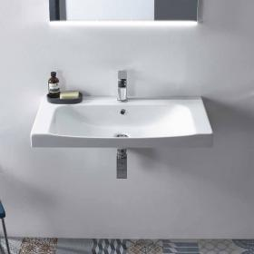 Roper Rhodes Breathe 810mm 1 Tap Hole Basin
