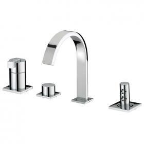 Photo of Bristan Chill Four Tap Hole Bath Shower Mixer