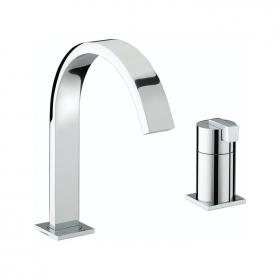 Photo of Bristan Chill Two Tap Hole Bath Filler
