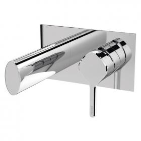 Photo of Bristan Flute Wall Mounted Bath Filler