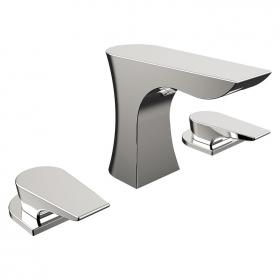 Photo of Bristan Hourglass Three Tap Hole Bath Filler
