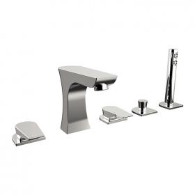 Photo of Bristan Hourglass Five Tap Hole Bath Shower Mixer
