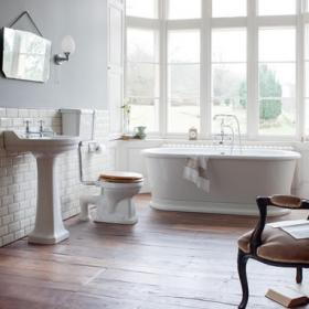 Burlington London Round Bathroom Suite