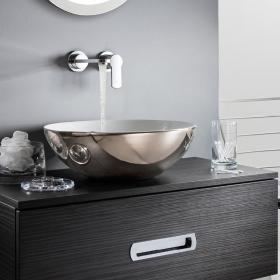 Bauhaus Castellon Plus Platinum 430mm Countertop Basin