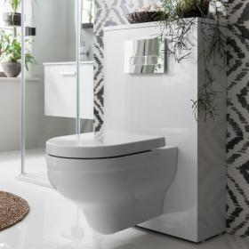 Photo of Bauhaus Central Wall Hung WC & Soft Close Seat