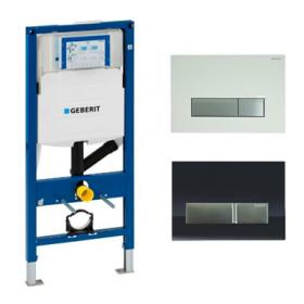 Geberit Duofix WC Concealed Frame with Odour Extraction & Flush Plate