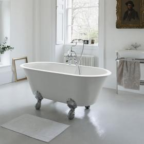 Clearwater Classico Grande 1690mm Clear Stone Freestanding Bath