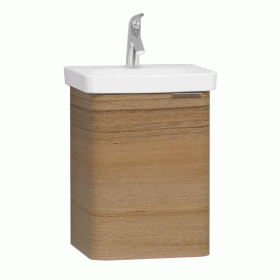 Vitra Designer Nest Waved Natural Wood 450mm Cloakroom Unit & Basin