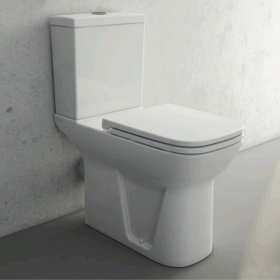 Vitra S20 Close Coupled WC Pan - Open Back