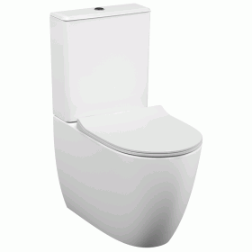 Vitra Designer Sento Back To Wall Close Coupled WC  &  Seat