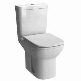 Vitra S20 Close Coupled WC - Closed Back