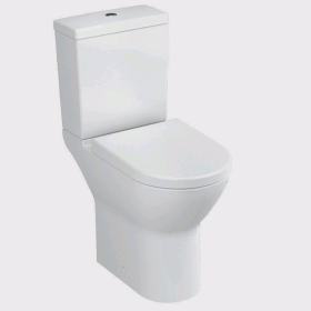 Vitra S50 Comfort Raised Height Close Coupled WC Suite - Open Back