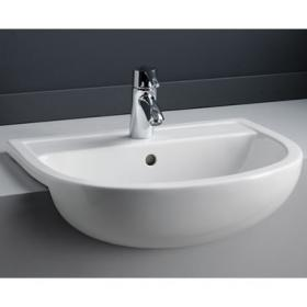 Photo of RAK Compact 55cm Semi Recessed Basin