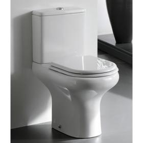 RAK Compact Close Coupled WC and Soft Close Seat
