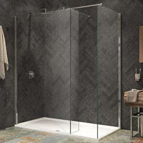 Kudos Ultimate 2 1500mm Walk In Shower Enclosure & Shower Tray