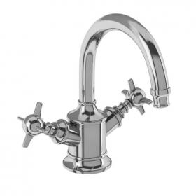 Photo of Arcade Chrome Dual Lever Basin Mixer Tap