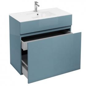Aqua Cabinets D450 Ocean 900mm Double Drawer Unit & Basin