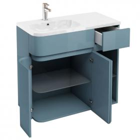 Aqua Cabinets D450 Arc Ocean 900mm Combination Unit & Basin